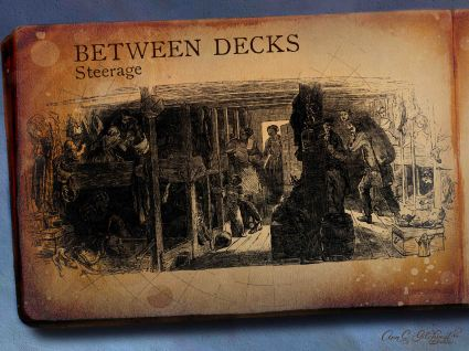 Between Decks Left Page
