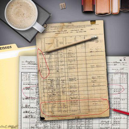 1880 Census Carrigan