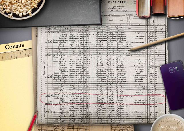 1900 Census Patrick