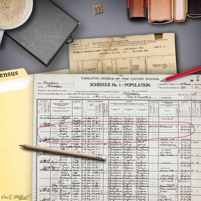 1900 Census Vero