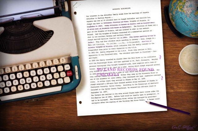 Augusta Schindler papers