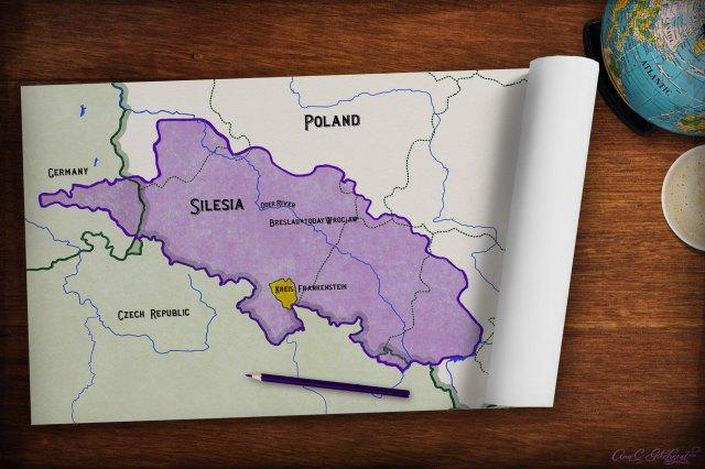 Silesia Map