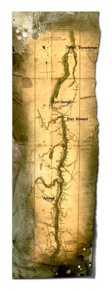 Hudson River Map 1
