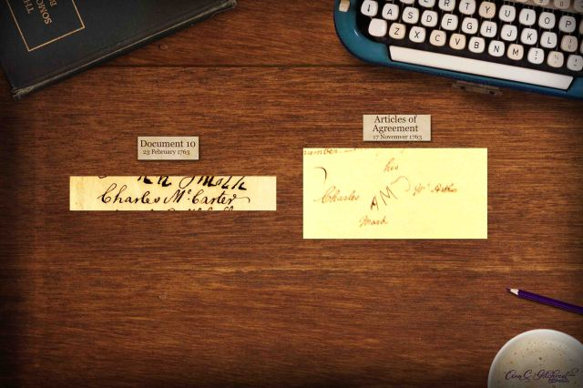 Charles McArthur signatures